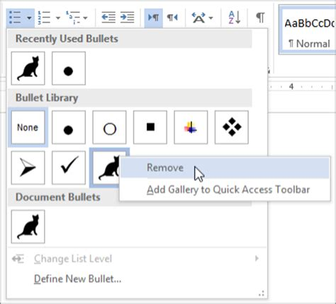 create custom bullets with pictures or symbols office