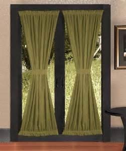 staging curtains patio door
