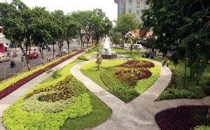 taman lansia fasilitas umum surabaya