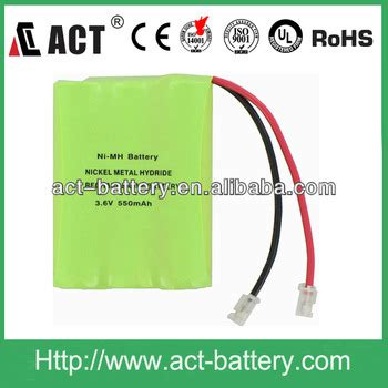 550mah 3.6v ni mh batteries pack aaa buy 3.6v 550mah ni