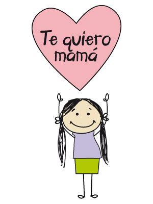 imagenes te quiero mami dibujos de dia de la madre para colorear y pintar todopap 225 s
