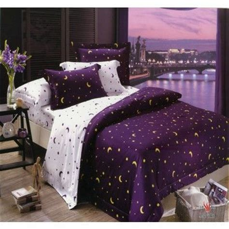 moon and stars comforter queen size cotton bedding and bedding on pinterest