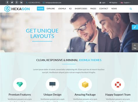 joomla best templates best responsive joomla templates for march 2015