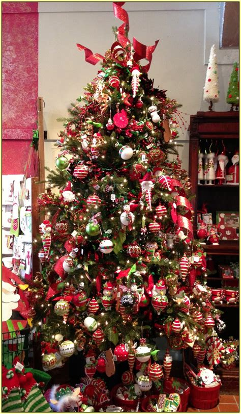 beautiful decorated christmas trees home design 17275