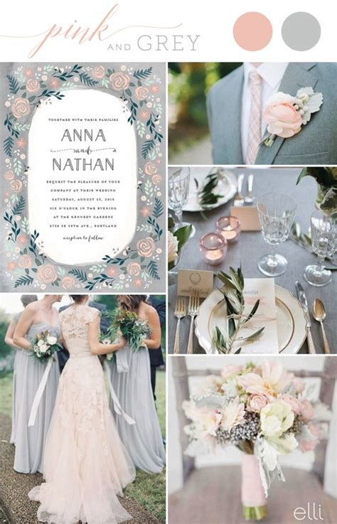 wedding colour themes silver 2017 summer wedding color trends wedding inspiration