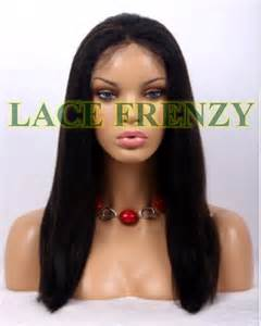 Isis Hair Extensions by Isis 16 Inches Yaki Indian Remy Full Lace Wig