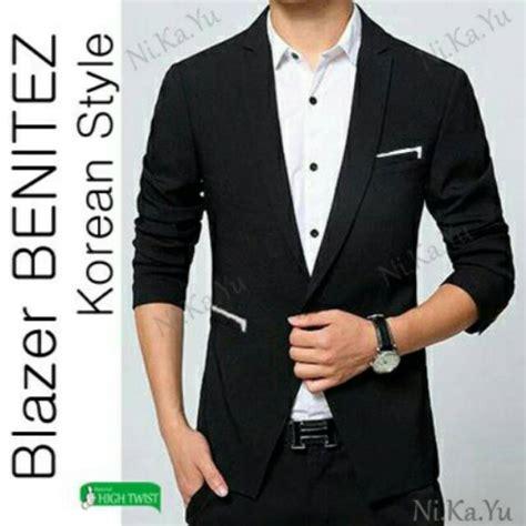 Blazer Pria Slimfit Style blazer benitez jas pria slimfit korea style model