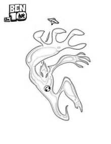 goop from ben 10 alien force coloring page download