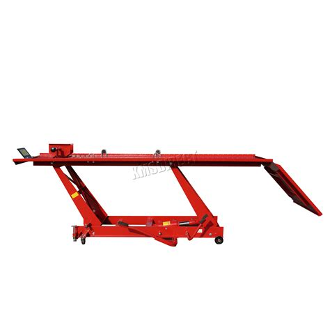 motorcycle hydraulic bench foxhunter 1000lb hydraulic bike motorcycle motorbike lift