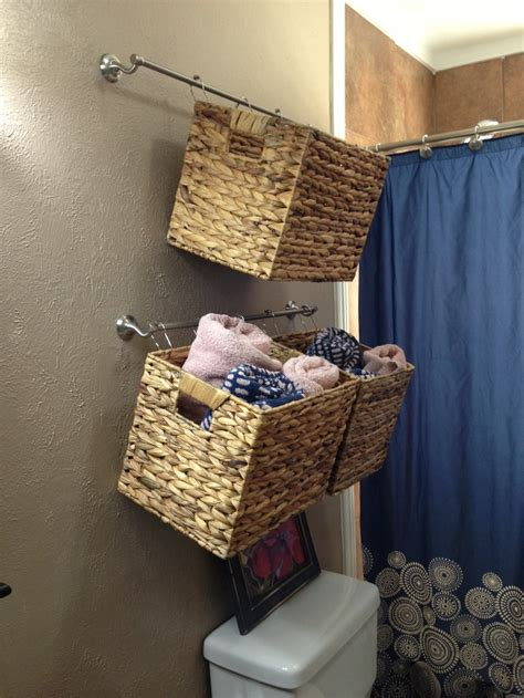 what to put in bathroom baskets bathroom hanging baskets clean as a whistle and