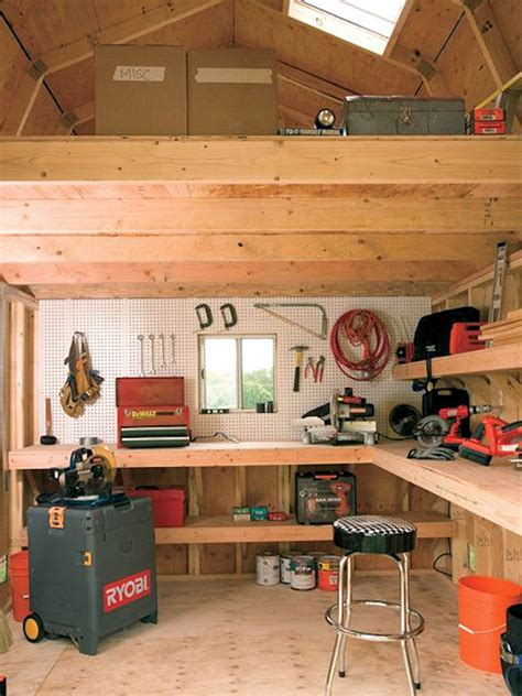 work shed interior ideas how to organize your garage raber portable storage barns