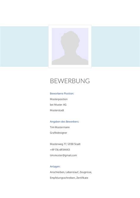 Deckblatt Design Vorlagen Bewerbung Deckblatt Muster Vorlage 26 Lebenslauf Designs