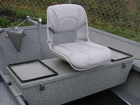 boat bench seat with storage koffler boats rocky mountain trout boat oarsman seat