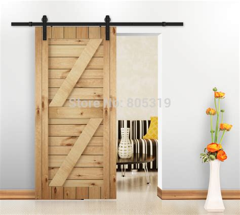 Interior Barn Door Track System by Rustic Vintage Plate Sliding Barn Door Hardware Barn Door