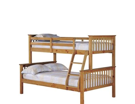 Albany Bunk Bed Albany Antique Pine Trio Bunk 3ft 4 Ft Uk Delivery
