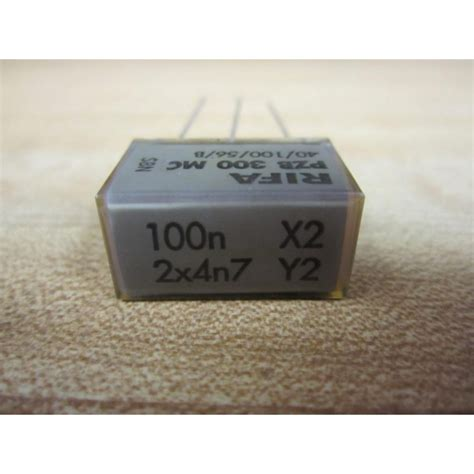 rifa capacitor date evox rifa pzb 300 mc capacitor 4010056b new no box mara industrial