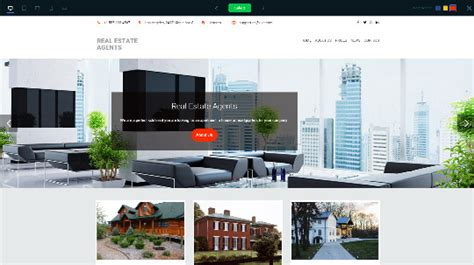 The Best Website Builders To Create A Real Estate Agent Website Website Templates For Real Estate Agents Free