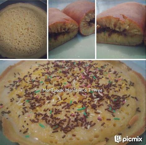 cara membuat martabak mini pakai teflon resep martabak manis teflon sangat nikmat