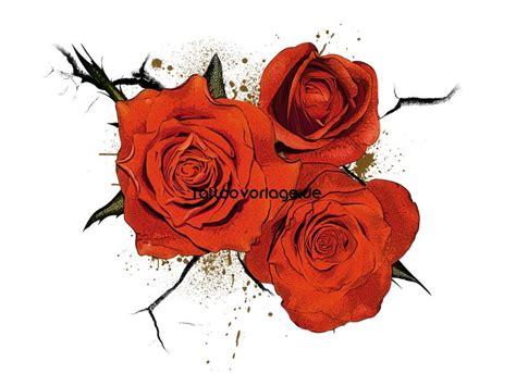 herz rosen tattoos
