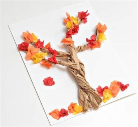Paper Fall Crafts - 15 autumn paper craft for family net guide