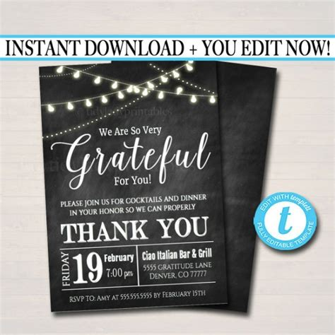 thank you cards for dinner template 13 lunch invitation to colleagues templates designs