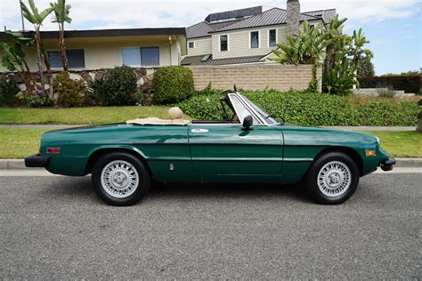1978 alfa romeo spider for sale 1978 alfa romeo spider veloce convertible stock 369 for