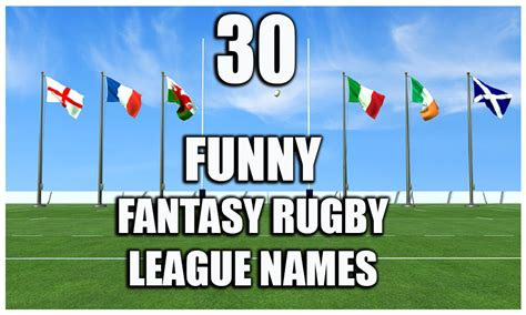 fantasy football league names funny rugby fantasy team names 25 funny premier league