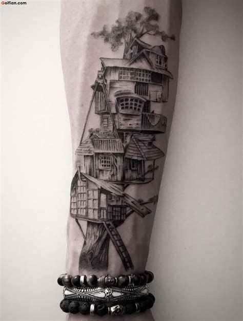 house tattoo 50 awesome arm designs best sleeve