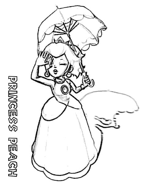 coloring pages for princess peach coloring pages princess peach game