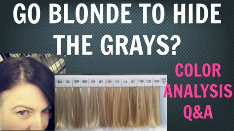 going gray going grey do you want to go blonde to cover