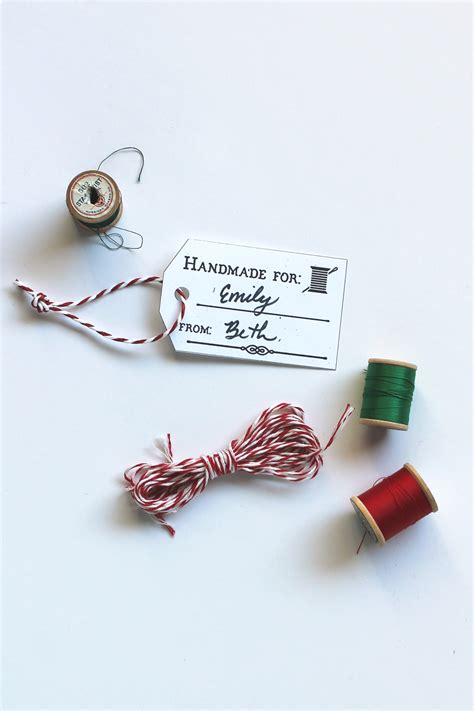 Buy Handmade Gifts - free diy printable handmade gift tags sew diy