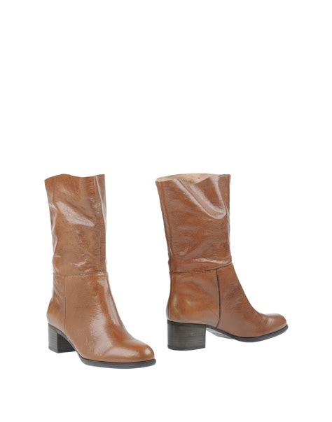 Celana Bigsize Soft Nine West nine west ankle boots in brown lyst