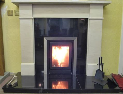 Stove Mantle Solid Fuel Fires On Display At Fojcik Fires In Kirkcaldy