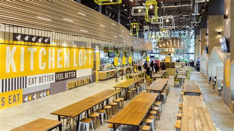 food court restaurant design kitchen loft by manic design singapore 187 retail design blog