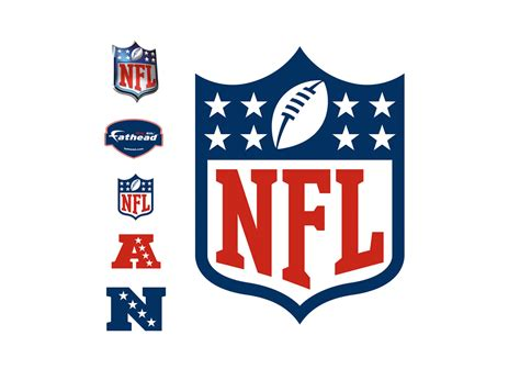 Wall Mural Decal nfl logo wall decal shop fathead 174 for nfl decor
