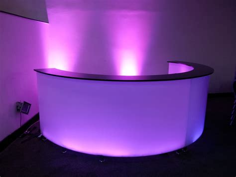 How To Make Wedding Decorations At Home Led Mobile Bar Hire Magic Hire Ltd Sound Amp Light