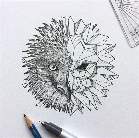 philippine eagle tattoo designs geometric beast owl kerby rosanes