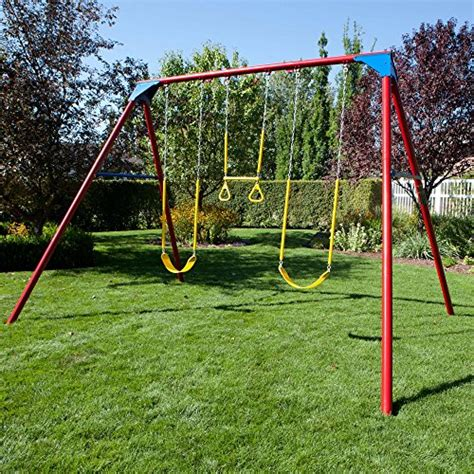 metal a frame swing set lifetime heavy duty a frame metal swing set endurro