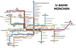 Munich Metro Map by November 2011 Free Printable Maps