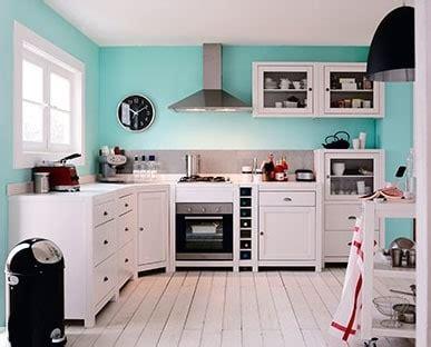 Séparer La Cuisine Du Salon 4075 by Cuisine Bleue Id 233 Es D 233 Co Et Inspiration Autour De