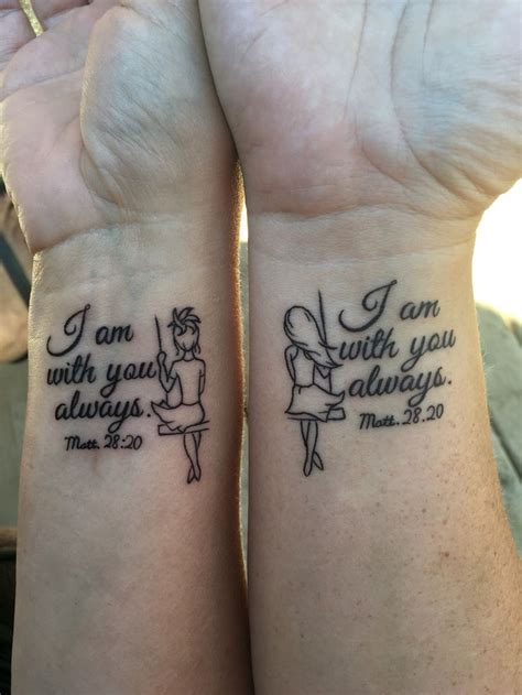 sisterhood tattoos designs a year in the we been friends and now