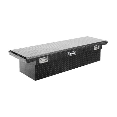 pickup truck tool boxes low profile tool box for trucks husky 70 in topsider black low profile truck box thd70lpb