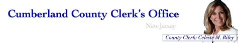 New Jersey Clerk Of Courts Records Cumberland County Clerk S Office