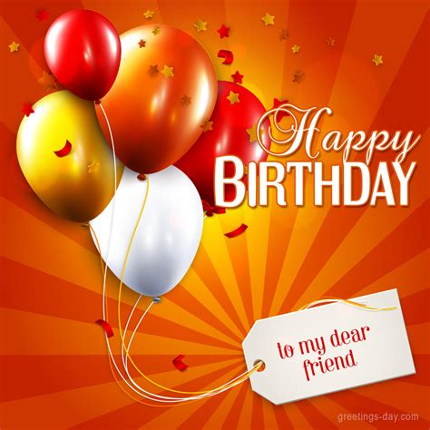 happy birthday   dear friend  ecards pics