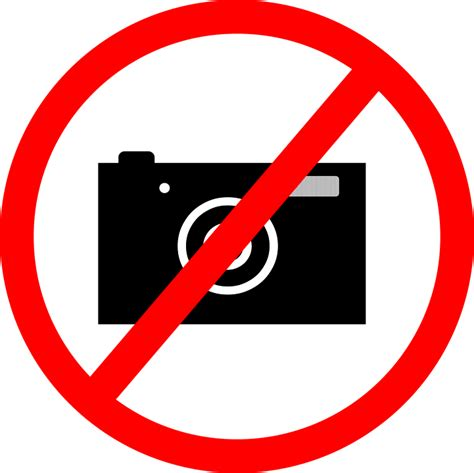 take photo do not take photos a ban on taking 183 free vector graphic