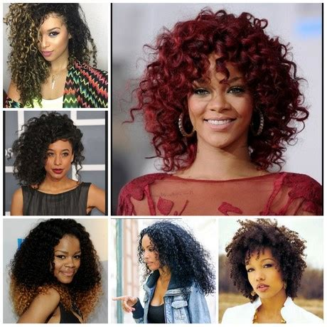 Hairstyles For 2017 With Medium Curl by Curly Haircuts 2017