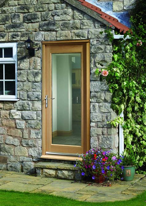 External Oak Front Doors Pattern 10 Glass Oak External Door