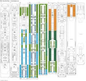 deck plans msc lirica deck plans diagrams pictures