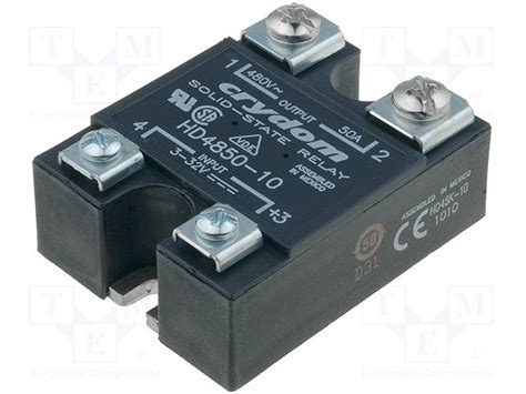 Crydom Ha4850 hd4850 10 crydom relay solid state tme electronic