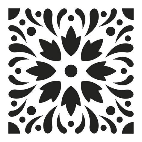 stencil per piastrelle stencil decorativo modello medio 15x15 cm piastrelle